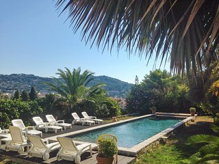 French Riviera villa w/ private pool,WiFi - minutes from Cannes & the Croisette!