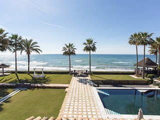 Seven Bedroom Beach Front Gem in Los Monteros, Marbella