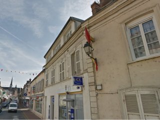 Apartment with one bedroom in Maintenon, with wonderful city view and WiFi