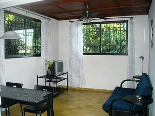Villa Gascue Guest Apartments. Spacious studio with terrace!