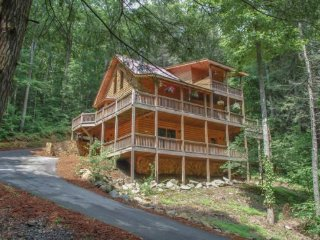 MI CASA ES SU CASA- 4BR 3BA- PRIVATE CABIN WITH TRAIL ACCESS TO FIGHTINGTOWN