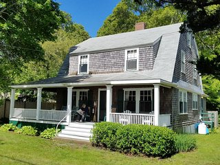 Spacious, ocean view, residential beach cottage near historic Plymouth, MA