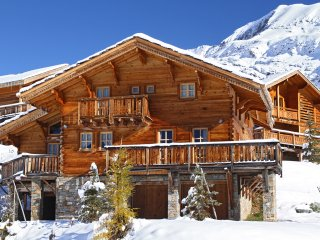 Chalet with 6 rooms in alpe d'huez, with wonderful mountain view and wifi