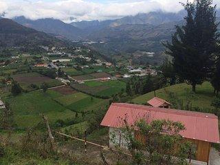 Cabaña en los Andes
