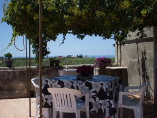 House with 2 rooms in sciacca, with sea view and terrace 5 km from the beach