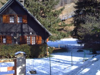 In the heart of the Pyrenees, beautiful chalet with 2 bedrooms and terrace