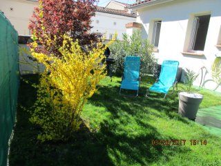 House with 2 rooms in Toulouse, with enclosed garden and WiFi