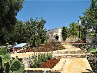 House with 2 bedrooms in Ostuni, with furnished garden - 16 km from the beach