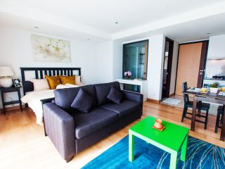 Studio Apartment with SofaBed_3A City & Mountain View - Rocco HuaHin Condominium