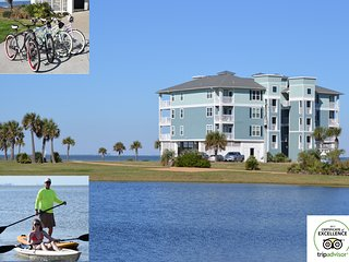 ArthurBeachBay - Waterfront 2BR - Spectacular View - Kayaks Bicycles