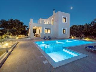New Modern Villa, 3 bedrooms,Unique Countryside,Private & Kids pools,5000m2 plot