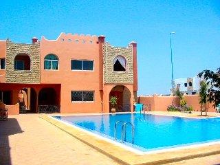 Appart avec terrasse sur piscine a Sidi Bouzid