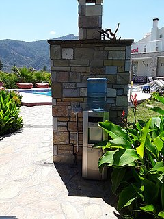2nd watercooler by the poolside replacement water delivered directly to the villa