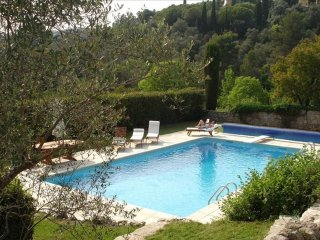 Cote d'Azur French Riviera Villa for 10 people - Provencal Paradise
