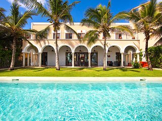 Riviera Maya Haciendas - Hacienda Del Mar  4-15 BR, BEACH FRONT, FULLY STAFFED!