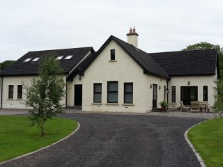 Kilskeery Lodge. Detatched modern country house with two private fishing lakes