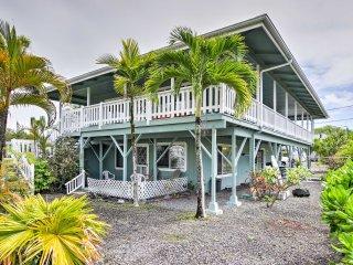 NEW! Tropical 4BR Pahoa House w/ Ocean Views!