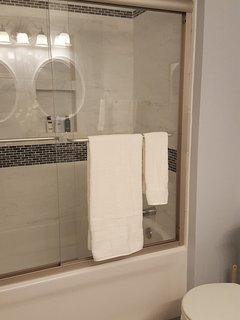 King Room's new shower