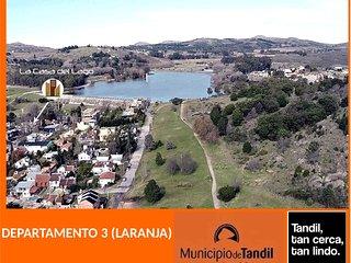 LA CASA DEL LAGO - TANDIL DPTO 3 (LARANJA)