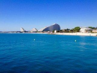 Studio Port Marina baie des Anges - plages, commerces, piscine a proximite