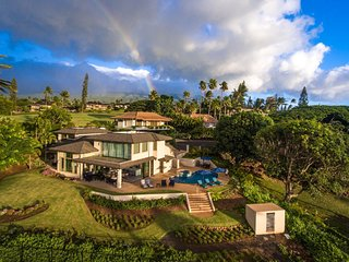Luxury 5bd, 5 1/2 ba Breathtaking Oceanview, Right on Kaanapali Golf Course