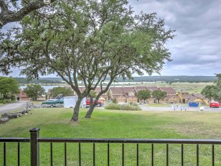 NEW! Hill Country 1BR Condo on Canyon Lake!