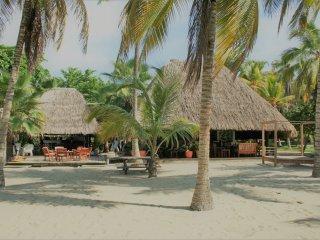 Casa de playa en el caribe
