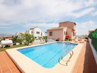Spacious villa in Xàbia with Internet, Washing machine, Pool, Balcony