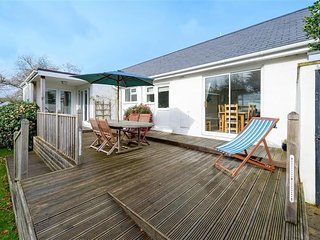 House in Abersoch with Internet, Terrace, Garden (674050)