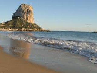 Dúplex con vistas en el centro de Calpe, a 10 min de la playa.