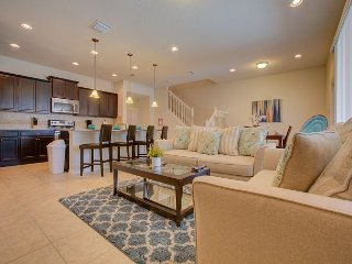 Upscale townhome with five bedrooms full of luxury.