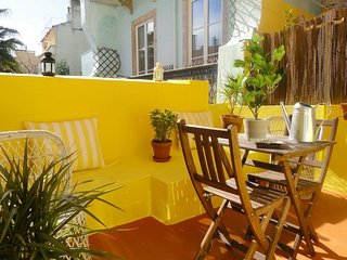Spacious apartment in the center of Lisbon with Washing machine, Terrace