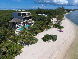 SUMMER SPECIAL—5BR Oceanfront Estate—Nirvana by Luxury Cayman Villas