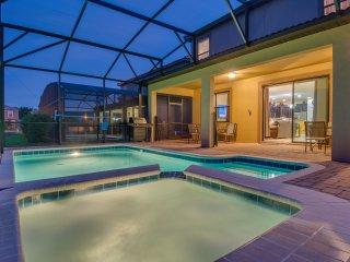 Mickey's Luxury pool home |10 mins to Disney | Wifi, Tennis ~ RA146208
