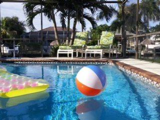 Villa Turquoise Coast Heated Pool on Canal to Gulf of Mexico ~ RA151275