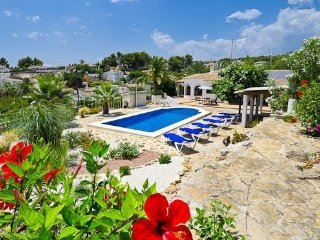 Cozy villa in Benissa with Internet, Washing machine, Pool