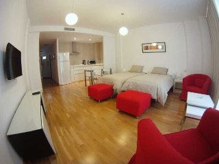 Cozy apartment in the center of Malaga with Lift, Internet, Air conditioning