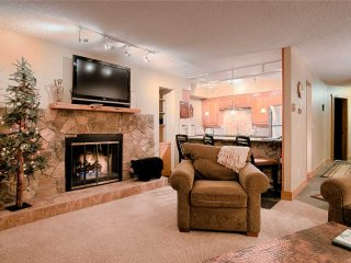 Beautiful updated 2bd/2ba condo in the heart of Breck + Ski-in!