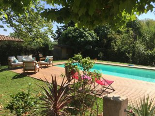 Maison bourgeoise 1860 8 pers piscine 200 m2