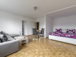 Cosy studio in Hanover with Parking, Balcony