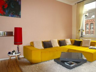 Apartment 922 m from the center of Hanover with Internet, Parking, Balcony, Wash