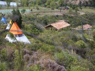 Aldea Tipi - El Molino de Aldebaran: ven a dormir a la montana!