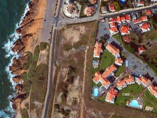 Appartement C102 ,T2 vue jardin arbore et piscine