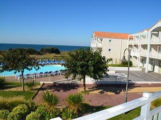 Appartement C103, T2 vue panoramique mer