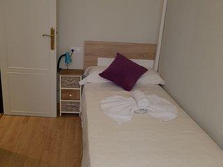Habitacion individual Confortable