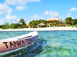 Tankah Inn. A real Bed & Breakfast on beach in Mexico's Riviera Maya.