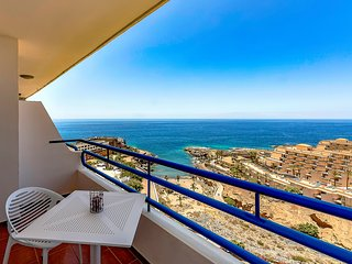 10-Studio with panoramic sea-view, WiFi, 3 pax