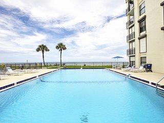 New! Beachfront 3BR St. Augustine Condo w/ Patio!