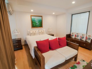 Studio Apartment with SofaBed_5A City & Mountain View - Rocco HuaHin Condominium