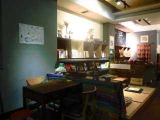 Female Room (1-3 ppl) on the 2nd floor of the cafe